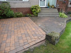 Driveway cleaning glasgow home driveway cleaning glasgow for Cleaning concrete patio slabs